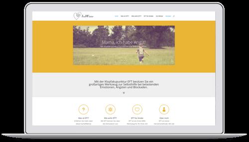 Website für einen EFT-Coach