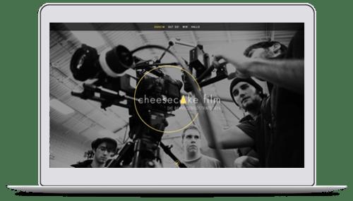 Website für eine Filmproduktionsfirma aus Düsseldorf