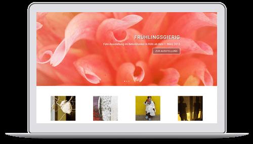 Website für Fotografin Astrid Steckel in Köln