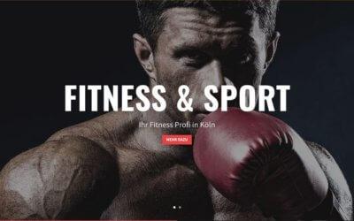 Fitness Homepage