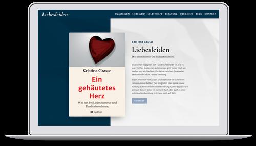 Website für Autor