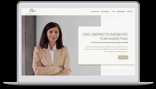 Website für Dolmetscher